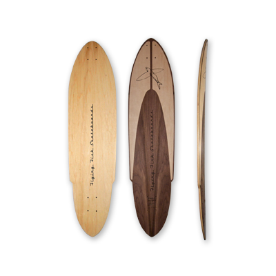 "Racer X — 39"" 7-ply pintail"