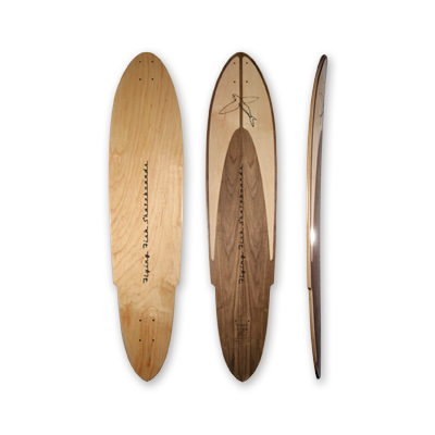"Racer X — 43.5"" 8-ply pintail"